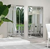 Espejo de diseño rectangular Costantia Tonin Casa