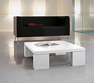 Mesa de Centro Cuadrada Brent - Mesas de Centro de Diseño - Muebles de Diseño