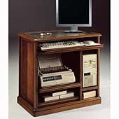 Mueble de ordenador torre vertical clásico