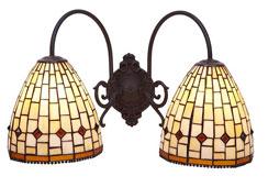 Aplique dos luces Art - Apliques y Plafones - Objetos de Decoración