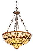 Lámpara de techo Tiffany Art