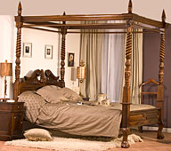 Dormitorio Clasico Reina Ana Keen Replicas