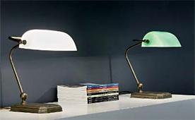 Lampara de banquero moderna - Lámparas de Escritorio - Objetos de Decoración