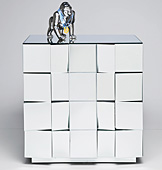 Comoda 4 Cajones Grandes Ilusiones - Cómodas Vintage - Muebles Vintage