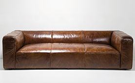 Sofa 3 plazas Vintage Cubetto