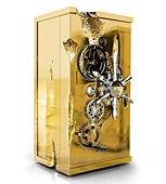 Caja Fuerte Millonaire Gold grande