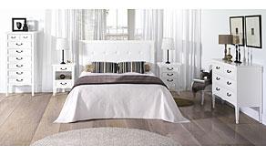 Dormitorio blanco Vintage Madison