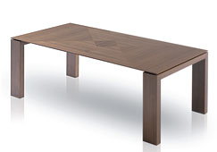 Mesa comedor extensible moderna Global
