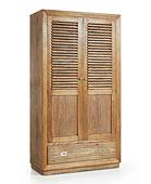 Armario 5 cajones 2 puertas colonial Merapi