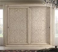 Armario 2 puertas corredoras vintage Bisanzio