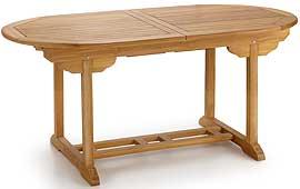 Mesa de Comedor Extensible Teka