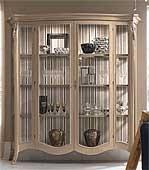 Vitrina 2 puertas ancha vintage Byblos