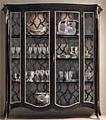 Vitrina 2 puertas ancha vintage Byblos II