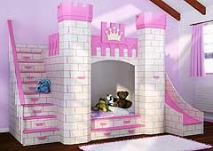 Dormitorio Castillo Princesas