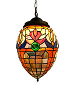 Lámpara de techo Tiffany Glomour