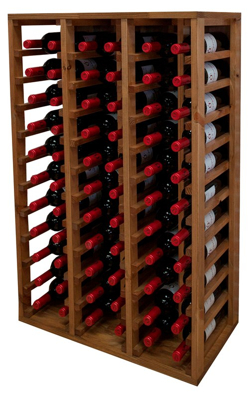 Botellero godello para 66 botellas en for Mueble para botellas