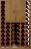 Botellero pino con 2 puertas - Muebles Bar Coloniales y Rústicos - Muebles Coloniales y Muebles Rústicos
