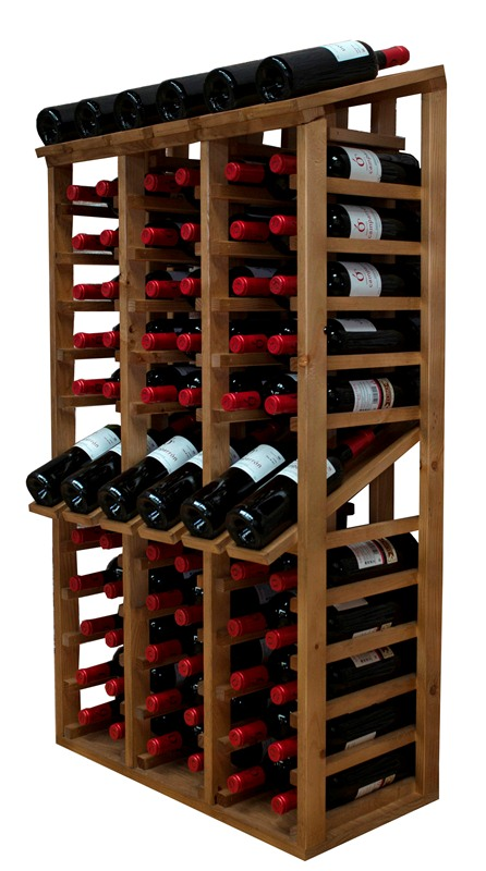 Botellero Expositor capacidad para 72 botellas en Portobellostreetes