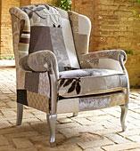Orejero Patchwork Otoño - Butacas de Diseño - Muebles de Diseño