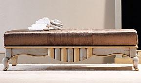 Taburete pie de cama vintage Valois