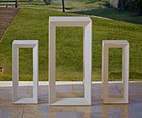 Conjunto bar de jardín Frame