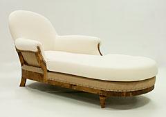 Chaise longue vintage Victoria