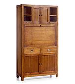 Secreter 5 Puertas 2 Cajones Star - Bureau Coloniales y Muebles Rústicos - Muebles Coloniales y Muebles Rústicos