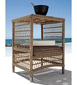 Mesa de Rincón Malibu - Muebles Auxiliares Jardin - Muebles de Jardín