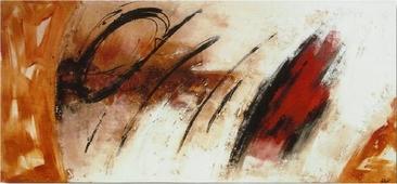 Cuadro abstracto fuego 07