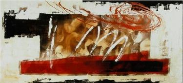 Cuadro abstracto gestual 03