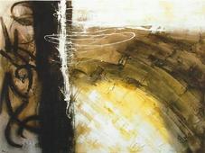 Cuadro abstracto piedra 03