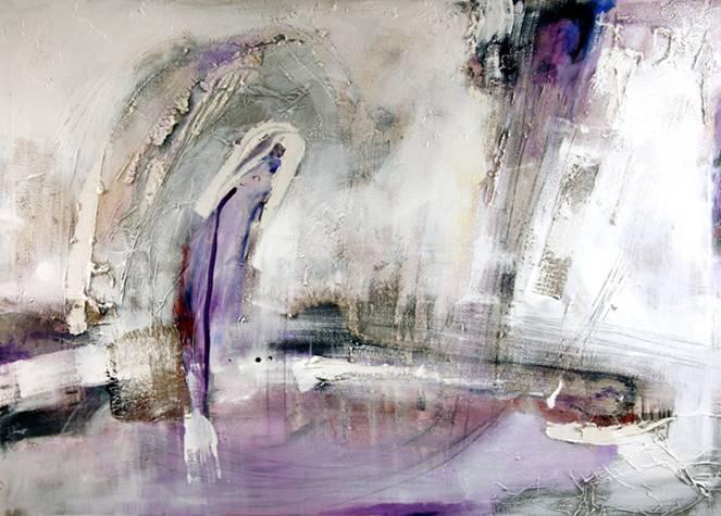 Muebles Martin Peñasco:  Cuadro abstracto palau 02 - Cuadros serigrafiados - Objetos de Decoración