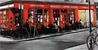 Cuadro market coffee house
