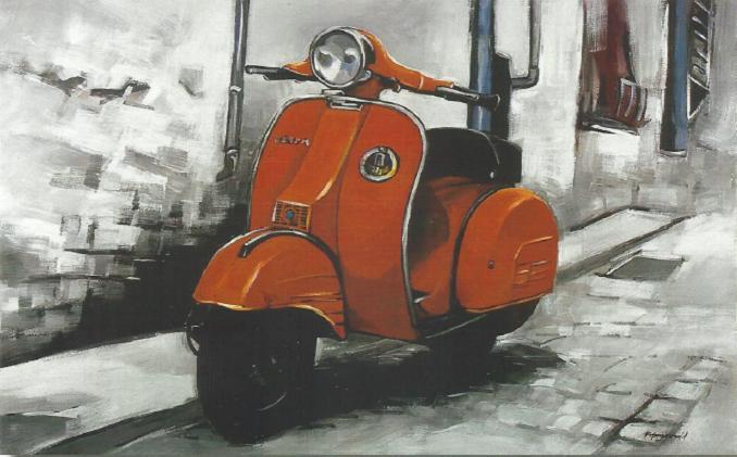 Cuadro Vespa 08