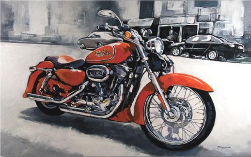 Cuadro Harley 11