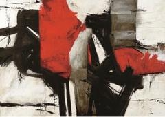 Cuadro canvas red profile - Cuadros serigrafiados - Objetos de Decoración