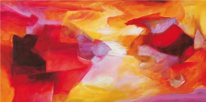 Cuadro canvas abstracto ipanema