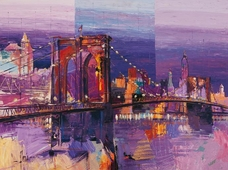 Cuadro canvas brooklyn bridge