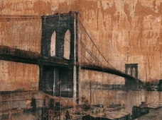 Cuadro canvas brooklyn bridge 2