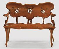 Muebles de antoni gaud en cosas de arquitectos cosas de for Gaudi muebles
