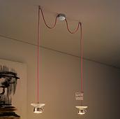 Set 2 lámparas de techo Albus