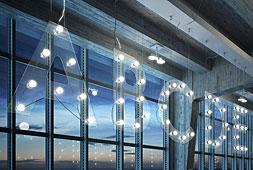 Lámpara de techo Scrivo