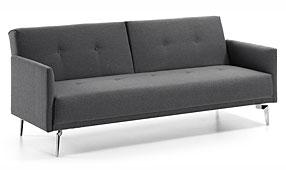 Sofá cama gris Moderno Rolf - Sofás de Diseño - Muebles de Diseño