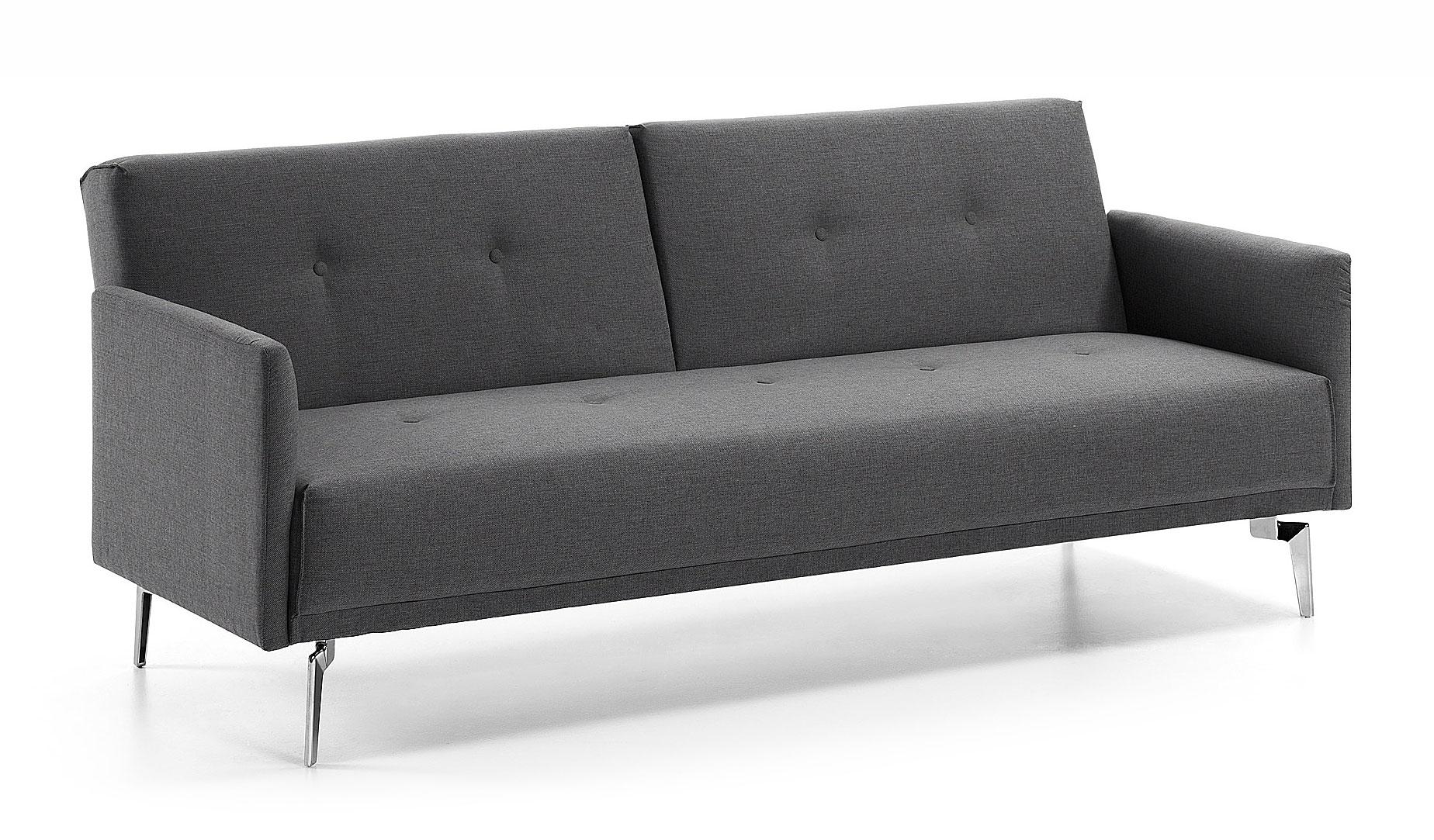 Sof cama gris moderno rolf en cosas de arquitectoscosas for Sofas modernos madrid