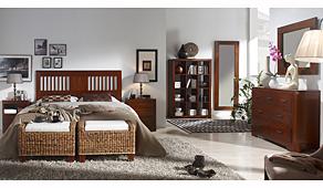 Dormitorio colonial Blume