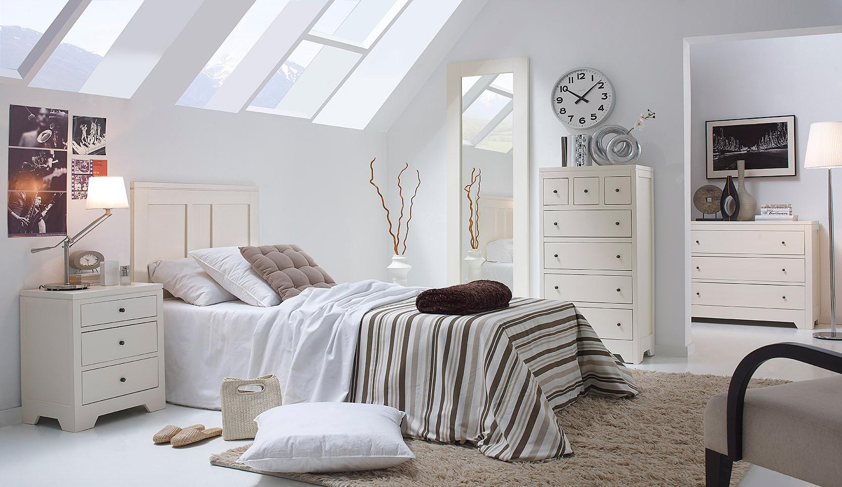 Dormitorio colonial heimat en cosas de arquitectoscosas de arquitectos - Habitaciones juveniles blancas ...