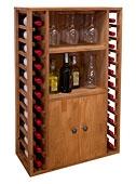 Botellero capacidad para 22 botellas - Muebles Bar Coloniales y Rústicos - Muebles Coloniales y Muebles Rústicos