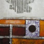 Cuadro Abstracto Geo I - Cuadros serigrafiados - Objetos de Decoración