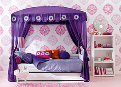 Dormitorio Infantil Morocco Chic