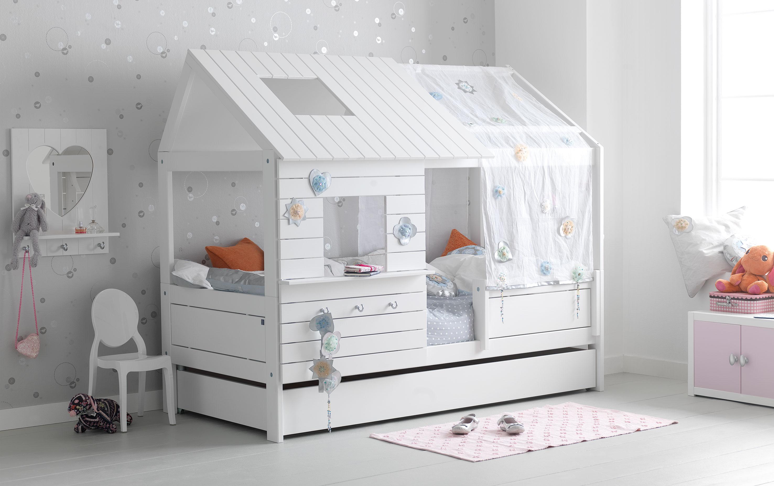 cama cabaa infantil cabeceros tapizados